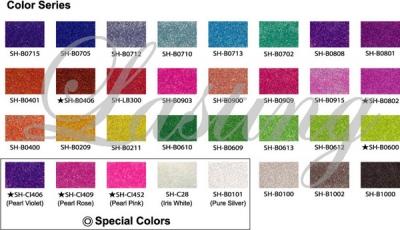 Art Glitter csillámtetoválás színek